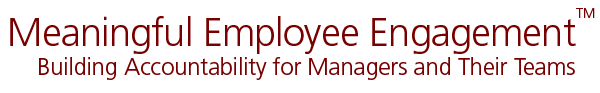 Meaningful Employee Engagement Logo